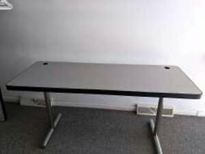 Training Table Folding 24 X 60 Comercial Grade Solid Top Or W Grommets