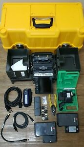 Fujikura Fsm 70r Fusion Splicer W ct 30 Cleaver Hjs 02 Stripper 1015 Arc Count