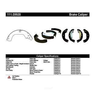Premium Brake Shoes preferred Fits 2010 2015 Chevrolet Cruze Centric Parts