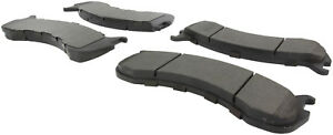 Premium Semi Met Pads W Shims Fits 2007 2011 Ford F53 Centric Parts