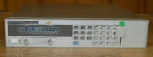 Hp Agilent 6645a Dc Power Supply 120v 1 5a 180w Programmable Tested Good