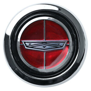 Mustang Wheel Center Cap Magnum 500 2 1 8 Red Crest 1965 1973