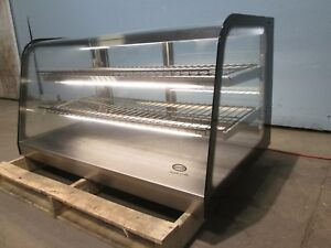 federal Commercial Lighted Counter Top Curved Glass Bakery Display Merchandier