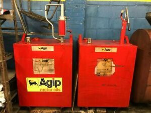 Oil Storage And Delivery Tank 55 Gallons Automotive Shop Equipment