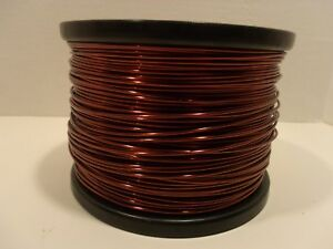 Essex Magnet Wire 14 Awg Gauge Enameled Copper Coil Winding Over 10 Pounds