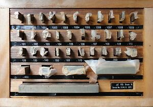 36 Pcs Grade 2 Gage Block Sets