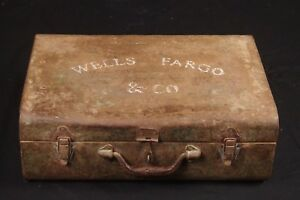 Original Wells Fargo Cash Carrying Case 1860 1890