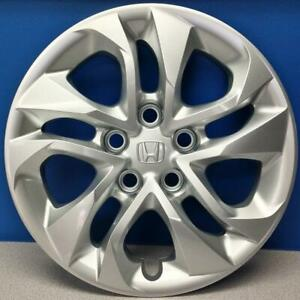 One 14 15 Honda Civic Lx Coupe 55097 16 Hubcap Wheel Cover 44733 Ts8 A00 New