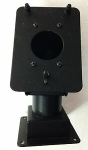Straight Stand For Verifone Mx 800 Series Pin Pad Terminal Mount 8 tall Swivals