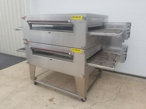 Xlt Model 3255 Double Stack Gas Pizza Oven 32 Belt Width