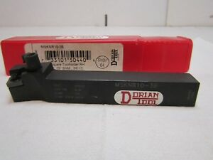 Dorian Msknr10 3b Negative Square Tool Holder Right Hand Cut Style K Snm_3 8 Ic