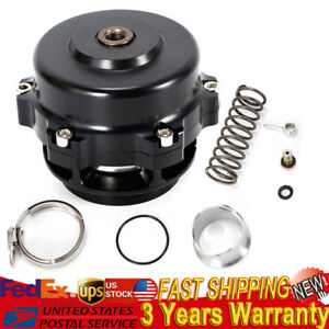 50mm Car Turbo Blow Off Valve Bov Flange Spring 5 80 18 85 Psi Universal Black