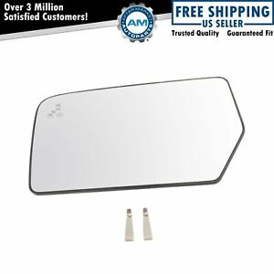 Mirror Glass Heated Blind Spot Detect Driver Side Left Lh For Ford Expedition