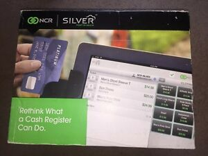Brand New In Box Ncr Silver Pos Cash Register System For Ipad Or Iphone