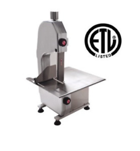 New Table Top Meat Saw Uniworld Uhla 165 Commercial Etl nsf 3864 Cutter Bone