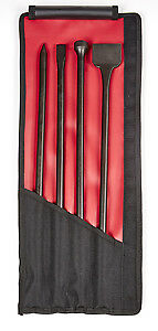 Mayhew Steel Products 37328 4 Pc Long Mix Air Chisel Set Brand New