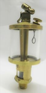 New Brass Gas Engine Drip Oiler Hit Miss Fairbanks Steam Fig 77 1 1 2