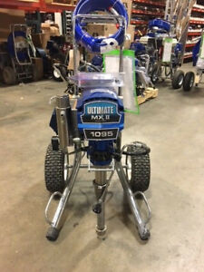 Graco Ultra Max Ii 1095 Standard Series Electric Airless Sprayer 826182 16w899