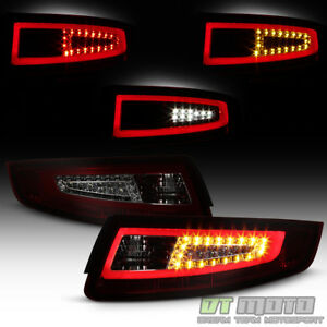 2005 2008 Porsche 911 997 Carrera Gt2 Red Smoke Led Pyro Tube Tail Lights Lamps