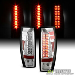 2002 2006 Chevy Avalanche 1500 2500 Led Tail Lights Brake Lamps 02 06 Left Right