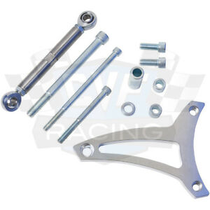 Ford Alternator Bracket 289 302 Billet Aluminum V belt Sbf Mid Mount Alt Brkt
