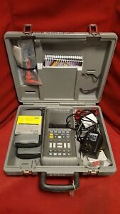 Fluke 105b Scopemeter Series Ii Test Tool In Case With Leads Manuals 8324