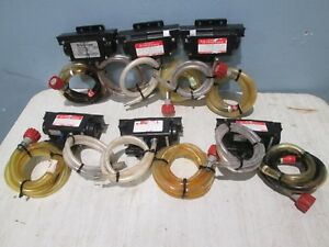 Lot Of 6 flojet H d Commercial nsf Post Mix Syrup Pumps air co2