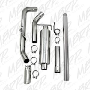 Mbrp T409 Exhaust Side Exit For 04 08 Ford F150 4 6l 5 4l Ec Cc Sb S5200409