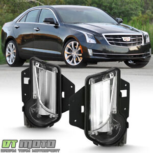 New 2013 2017 Cadillac Xts Bumper Driving Fog Lights Led Daytime Running Lamps