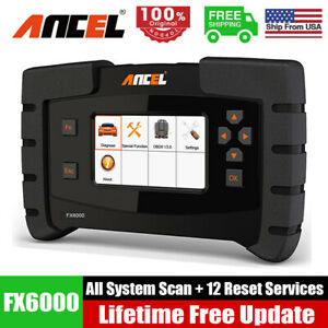 Ancel X7 Full System Obd2 Car Scanner Bi directional Diagnostic Tool Code Reader