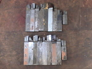 18 Pre owned 5 8 Sq Carbide Tip Lathe Bits