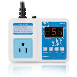 Willhi Wh1436h 110v Digital Air Humidity Controller With Lcd Display High