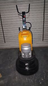 24 Concrete Grinder Polisher 3 Headed Concrete Planetary Variable Speed