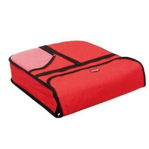 Case Of 6 Pizza Delivery Bag Insulated Nylon Holds Two 18 In X 18 In X 5 In