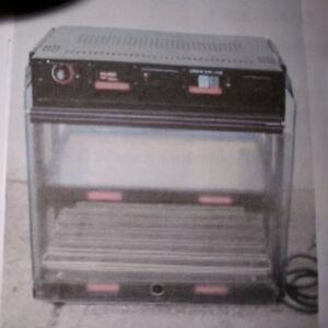 Hatco Heated Displace Mini Merchandiser Food Warmer