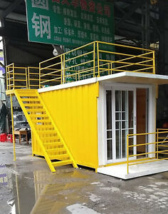 New Detachable 4mx2 2mx2 3m Container House Home Office Hotel Shipped By Sea