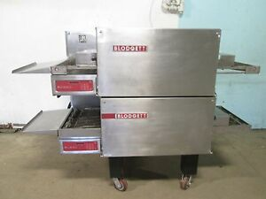 blodgett Hd Commercial 208v 3ph Electric Double Stacked Conveyor Pizza Oven