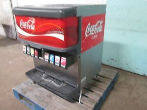 cornelius Df200 bc Commercial Heavy Duty Lighted 8 Heads Soda W ice Dispenser