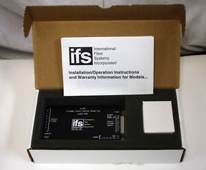 New Ifs Dt1825 8 Channel Fiber Optic Contact Mapping Transmitter