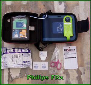 Philips Heartstart Frx Aed Case battery 08 2020 2 Sets Smartpads