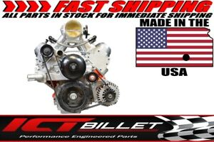 Ls Corvette Billet Alternator Bracket Low Mount Lsx Ls1 Ls2 Ls3