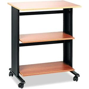Muv Adjustable Kitchen Dining Features Printer Stand 1881mo Medium Oak Two