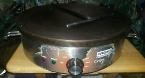 Waring Commercial Wsc160x 120v Electric 16 Crepe Maker With Spreader