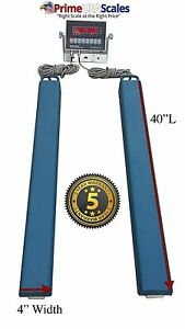 40 Bar Scale 3 000 Lb Livestock Scale Preifert Chute Weigh Bars Cattle Scale