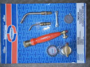 Uniweld Air Acetylene Twister Torch For B Tank 89600