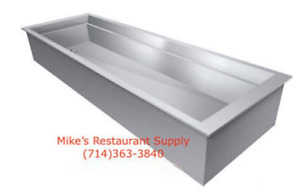 New 1 Full Insert Pan Ice Well Gsw Ip1826 Nsf 3917 Hotel Insulated Cold Buffet