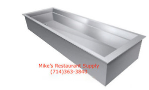 New 4 Full Insert Pan Ice Well Gsw Ip5926 Nsf 3920 Hotel Insulated Cold Buffet