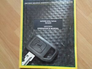 John Deere Gator Utility Vehicle Worksite Operators Manual Htf 76pgs Oem