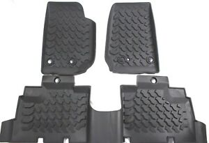 All Weather Molded Floor Mats Winter Slush Mat For 2007 2018 Jeep Wrangler Jk