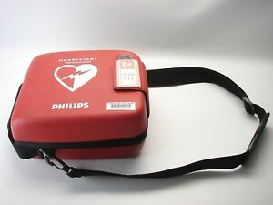 Philips Heartstart Frx Aed W Case Battery 2 sets Of Pads